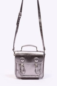 Metallic Mini Satchel
