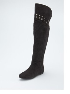 Love Label Flat Over The Knee Boots