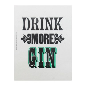Drink More Gin From How Kapow