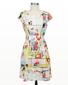 Holly Home Maker Comic Book Dress