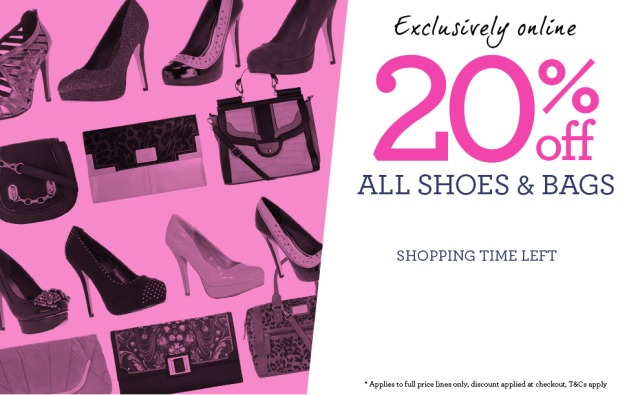 Dorothy Perkins 20% off