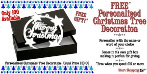 Punky Pins Christmas Decoration