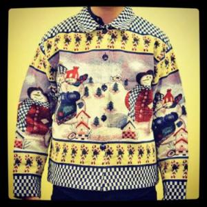 Christmas Jacket from Beyond Retro