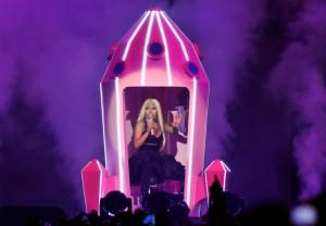 Nicki Minaj At The O2