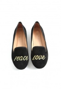 Sydnie Peace And Love Slipper Shoes