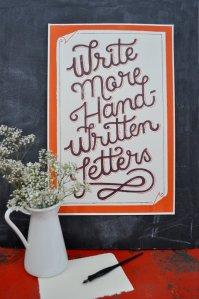 Write More Handwritten Letters
